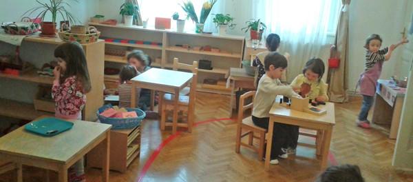 Grupele mixte de vârstă în clasa Montessori