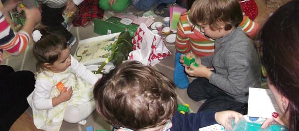Muntele de jucării - organizarea jucăriilor