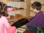 Materiale Montessori: Scara maro