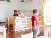 Comunitatea copiilor mici, mediul pregătit pentru ~1,5-3 ani