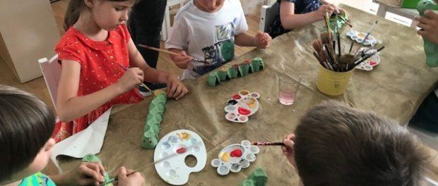 Învățare prin joacă. Când munca și joaca sunt alăturate.